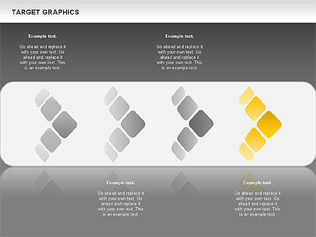 Target Graphics Concept, Slide 14, 00958, Shapes — PoweredTemplate.com