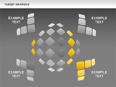Target Graphics Concept, Slide 15, 00958, Shapes — PoweredTemplate.com