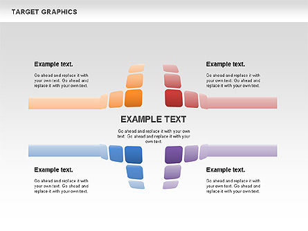 Target Graphics Concept, Slide 2, 00958, Shapes — PoweredTemplate.com