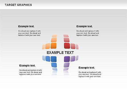 Target Graphics Concept, Slide 5, 00958, Shapes — PoweredTemplate.com