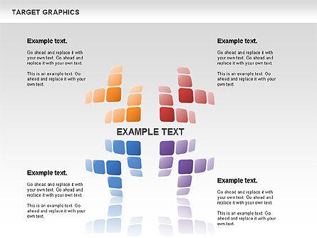 Target Graphics Concept, Slide 6, 00958, Shapes — PoweredTemplate.com