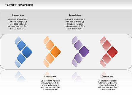 Target Graphics Concept, Slide 7, 00958, Shapes — PoweredTemplate.com