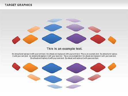 Target Graphics Concept, Slide 8, 00958, Shapes — PoweredTemplate.com