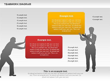Teamwork with Puzzles, Slide 7, 00964, Business Models — PoweredTemplate.com