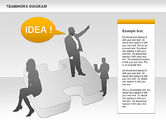 Business Models: Teamwork with Puzzles #00964