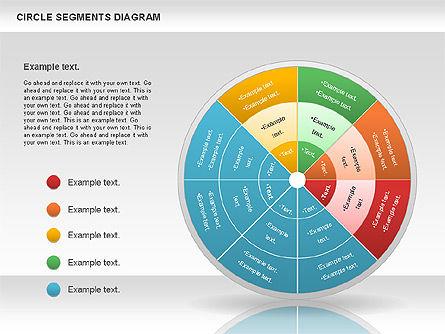 Circle Segment Diagram Slide 4