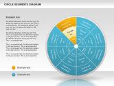 Pie Charts: Circle Segment Diagram #00967