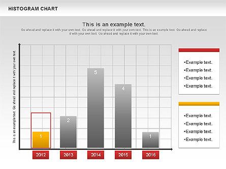Histogram Chart, Slide 2, 00968, Business Models — PoweredTemplate.com