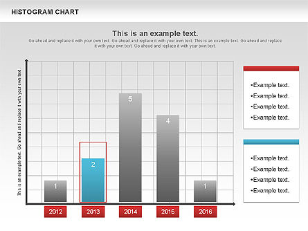 Histogram Chart, Slide 3, 00968, Business Models — PoweredTemplate.com