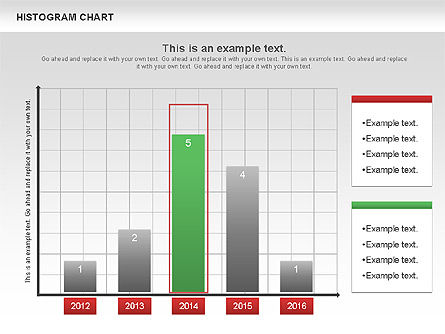 Histogram Chart, Slide 4, 00968, Business Models — PoweredTemplate.com