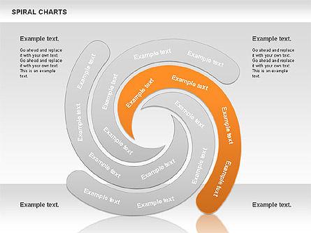 Spiral Shapes Chart, Slide 7, 00969, Business Models — PoweredTemplate.com