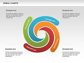 Business Models: Spiral Shapes Chart #00969