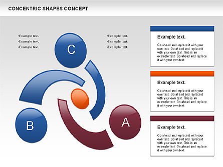Business Models: Concentric Shapes Concept #00972