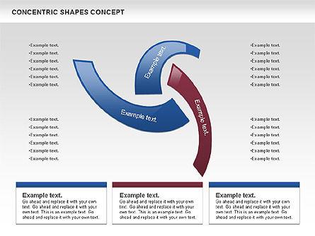 Concentric Shapes Concept, Slide 4, 00972, Business Models — PoweredTemplate.com