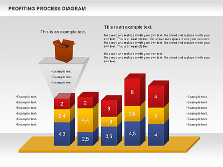 Business Models: Profiting Process Diagram #00973