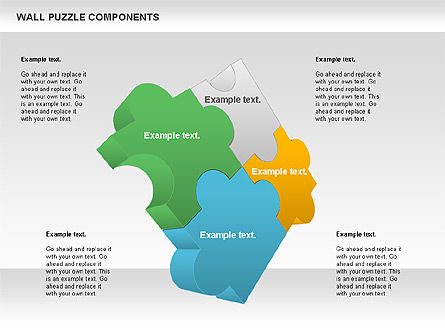 Puzzle Diagrams: Wall Puzzle Components #00976
