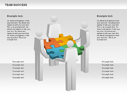 Puzzle Diagrams: Team Success Diagram #00977