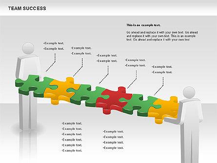 Team Success Diagram, Slide 11, 00977, Puzzle Diagrams — PoweredTemplate.com