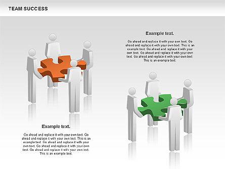 Team Success Diagram, Slide 5, 00977, Puzzle Diagrams — PoweredTemplate.com