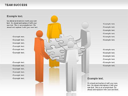 Team Success Diagram, Slide 7, 00977, Puzzle Diagrams — PoweredTemplate.com