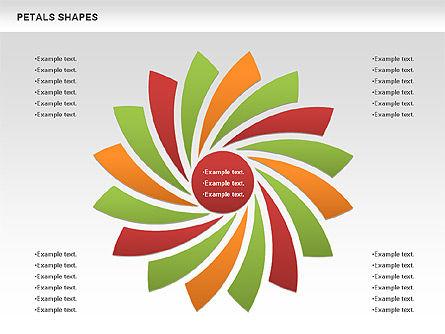 Shapes: Gratis bloemblaadjevormen #00979
