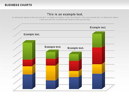 3D Histogram Chart, Slide 2, 00983, Business Models — PoweredTemplate.com