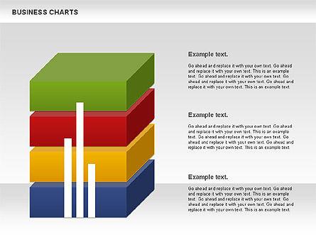 3D Histogram Chart, Slide 3, 00983, Business Models — PoweredTemplate.com
