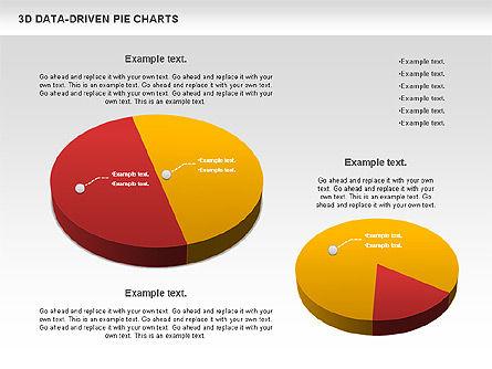 3D Pie Charts Collection (Data Driven), Slide 10, 00984, Pie Charts — PoweredTemplate.com