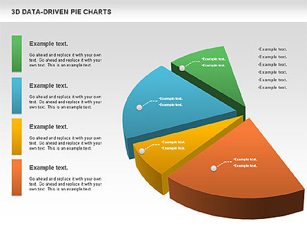 3D Pie Charts Collection (Data Driven), Slide 11, 00984, Pie Charts — PoweredTemplate.com