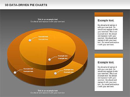 3D Pie Charts Collection (Data Driven), Slide 16, 00984, Pie Charts — PoweredTemplate.com