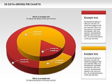 3D Pie Charts Collection (Data Driven), Slide 5, 00984, Pie Charts — PoweredTemplate.com