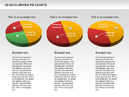 3D Pie Charts Collection (Data Driven), Slide 7, 00984, Pie Charts — PoweredTemplate.com