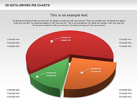 3D Pie Charts Collection (Data Driven), Slide 8, 00984, Pie Charts — PoweredTemplate.com