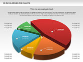 Pie Charts: 3D Pie Charts Collection (Data Driven) #00984