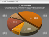 3D Pie Charts Collection (Data Driven)#12