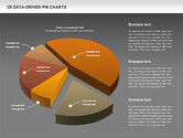3D Pie Charts Collection (Data Driven)#14