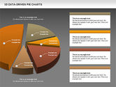 3D Pie Charts Collection (Data Driven)#15