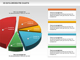 3D Pie Charts Collection (Data Driven)#4