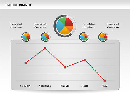 Timelines & Calendars: Report Charts and Diagrams #00985