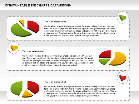 Dismountable Pie Chart (Data Driven), Slide 11, 00990, Pie Charts — PoweredTemplate.com
