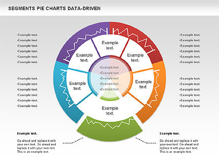 Data Driven Segments Pie Chart Slide 4