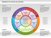 Pie Charts: Data Driven Segments Pie Chart #00991
