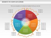Data Driven Segments Pie Chart#11