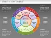 Data Driven Segments Pie Chart#12