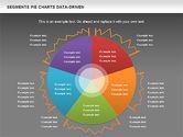 Data Driven Segments Pie Chart#14