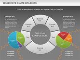 Data Driven Segments Pie Chart#16