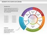 Data Driven Segments Pie Chart#5