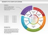 Data Driven Segments Pie Chart#6