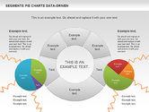 Data Driven Segments Pie Chart#9