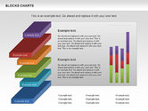 Business Models: Blocks Histogram Chart #00992